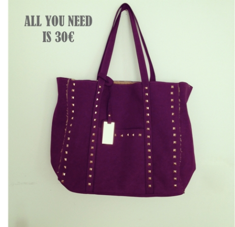 All you need is 30 bolso morado