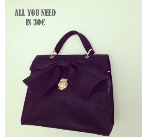 All you need is 30 bolso