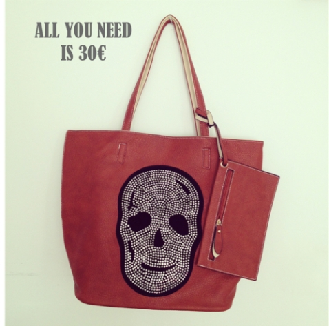 All you need is 30 calavera fucsia