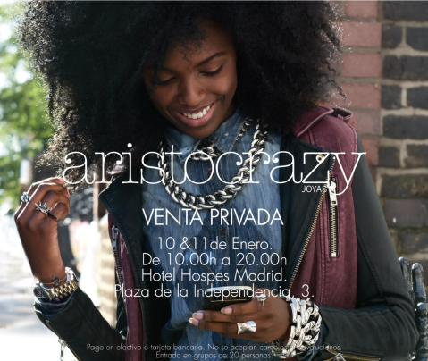 Venta Privada Aristocrazy Madrid