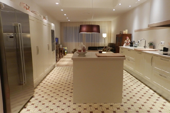 Ideas de decoraci n con baldosas hidr ulicas descubrimientos - Baldosas suelo cocina ...
