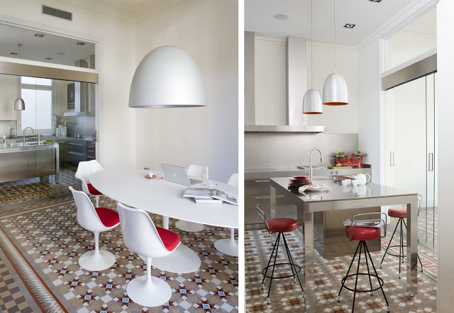 Ideas de decoraci n con baldosas hidr ulicas descubrimientos - Suelos rusticos para cocinas ...