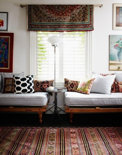 Salon tejidos kilim