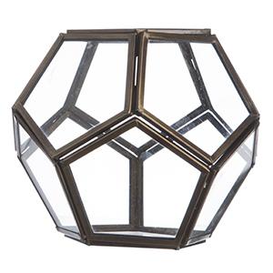 Caja hexagonal Vidrio - 5943AC